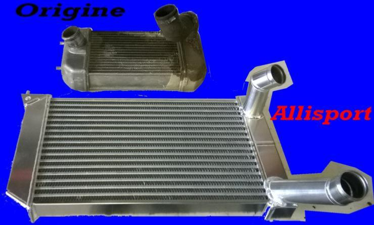 Intercooler gros débit Allisport defender90/110 / discovery 200TDI