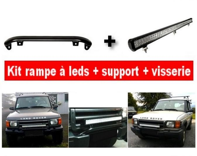 kit rampe à leds + support + visserie pour Discovery 2