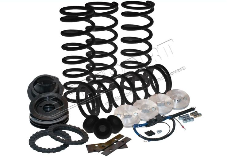 kit conversion ressort HD + 3cm  suspension range rover P38